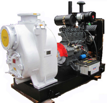 Self-priming Diesel Engine Trash Pump