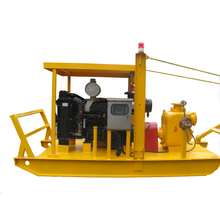 Boat Type Self-priming Diesel Engine Trash Pump
